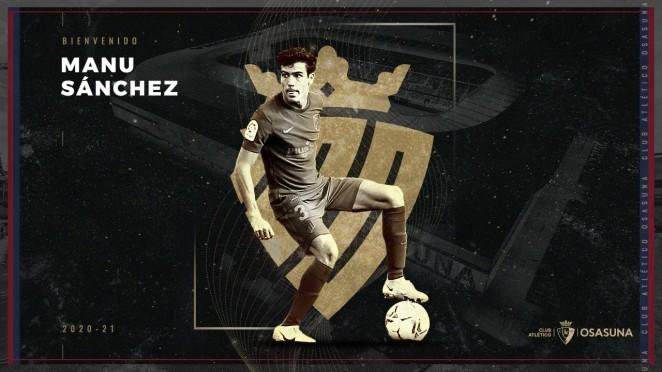 Manu Sánchez Osasuna