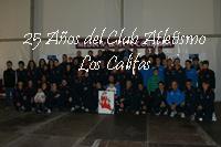 25 años del Club de Atletismo Los Califas