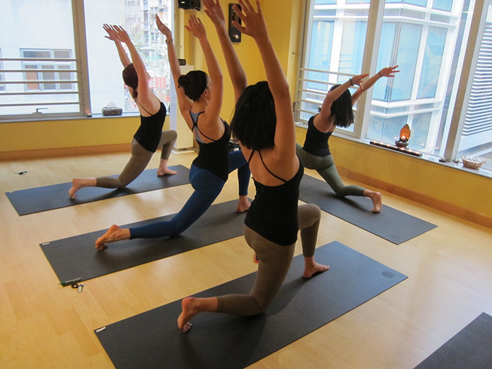 The Yoga Room in Sheung Wan  ATmag  Hong Kong tips for