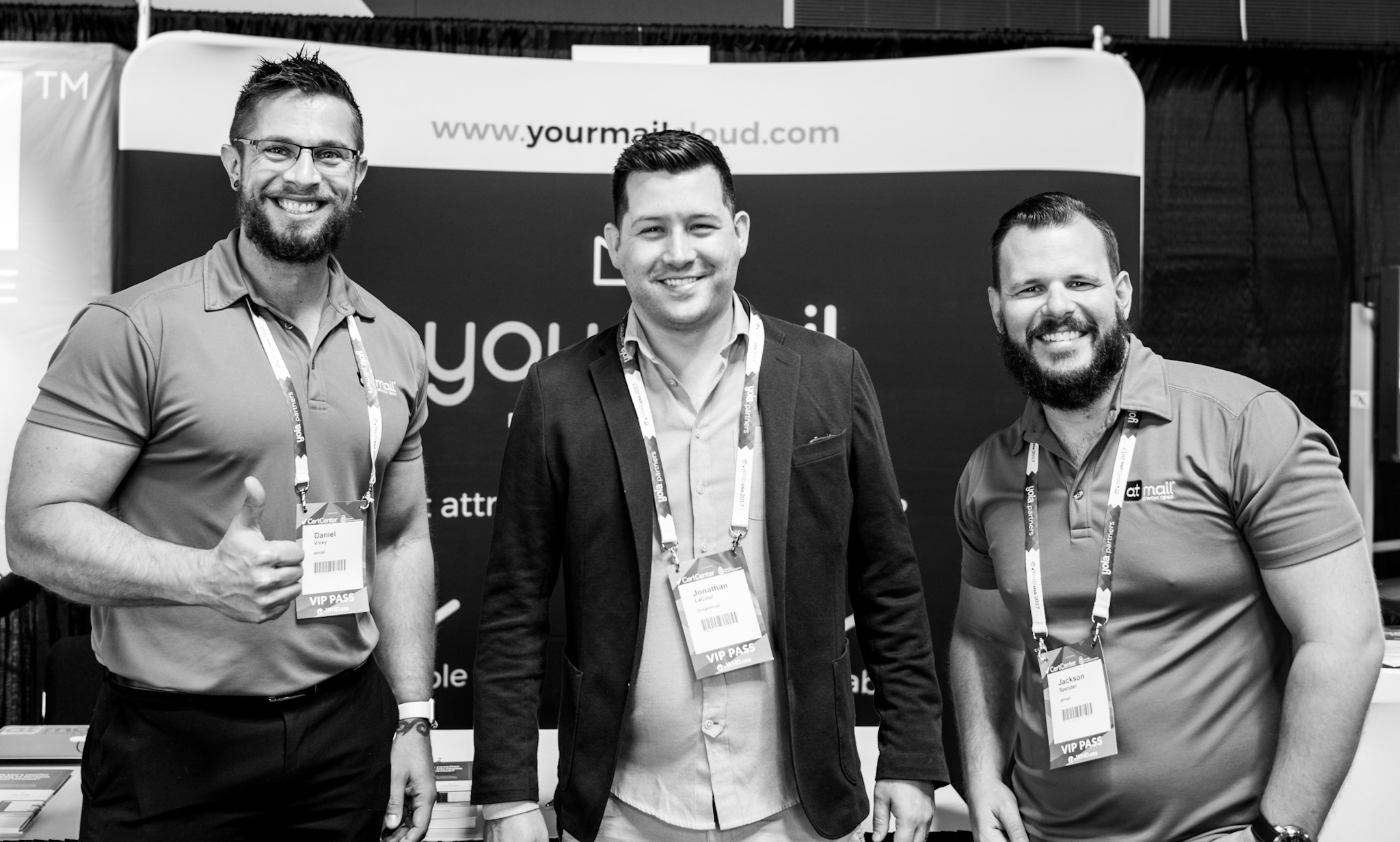 Dan Viney atmail, Jonathan LaCour from Dreamhost, Jackson Spender atmail