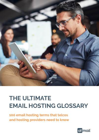 Cover - The Ultimate Email Hosting Glossary - atmail