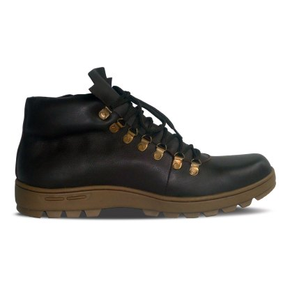 sepatu kulit pria boots B02 brown - in - atmal