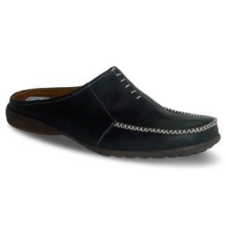 sepatu kulit pria casual C12 black - atmal