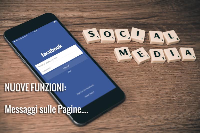 Nuove funzioni di Facebook