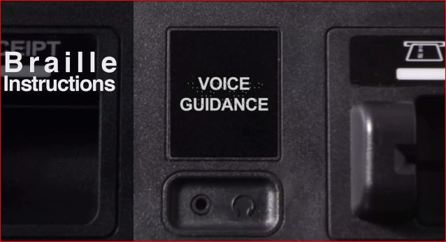 ATM ADA Standards for Braille Instructions