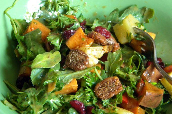 Kickin' Sweet Potato Salad