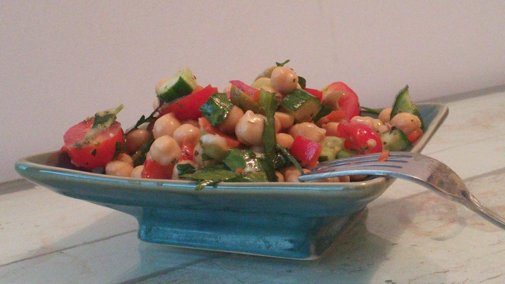 Sassy Summer Chickpea Salad