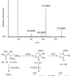 https www atmos chem phys net 18 figure 15electrospray product ion mass spectrum  [ 1195 x 1499 Pixel ]