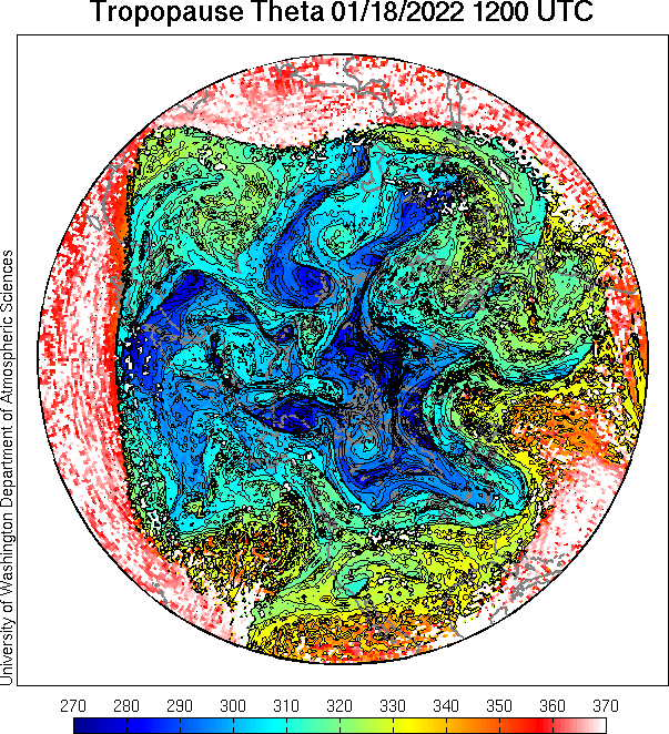 north pole view