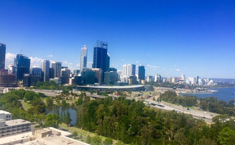 Perth, here I am.