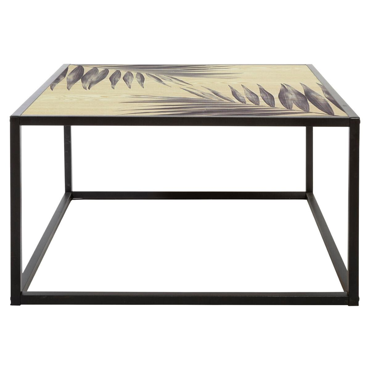 table basse slow time metal d70 cm