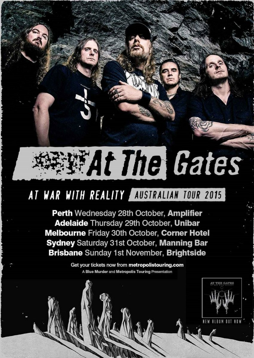 At War With Reality Australian Tour 2015