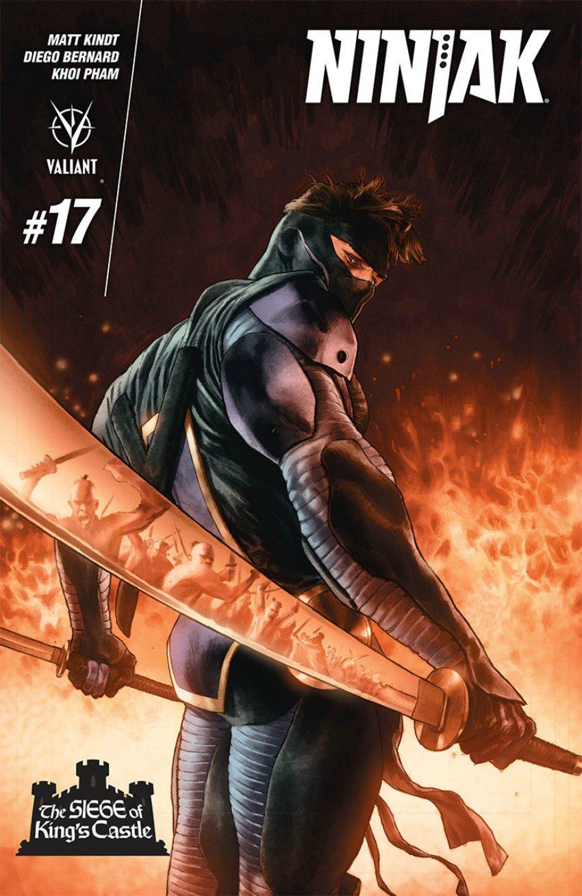 "Ninjak #17 (""The Siege Of King's Castle"" - Part 4)"