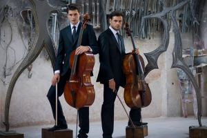 Luka Šulić and Stjepan Hauser from Zagreb, Croatia-based 2Cellos