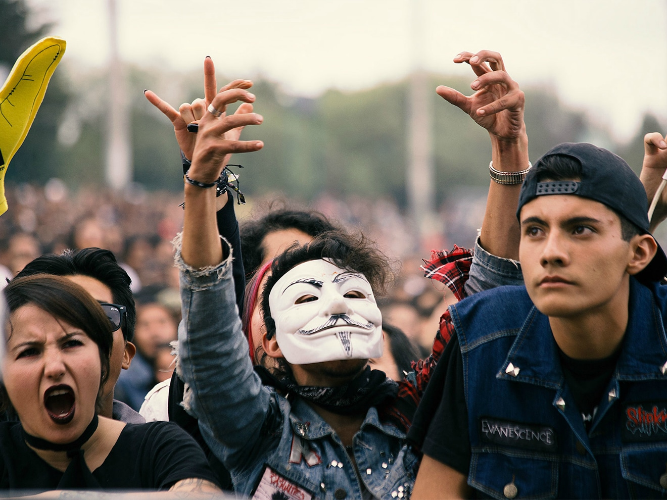 Festival Rock al Parque audience