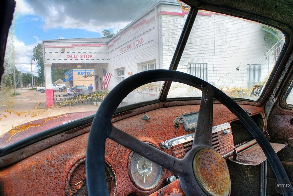 Rusted Interior - Smithville, Texas