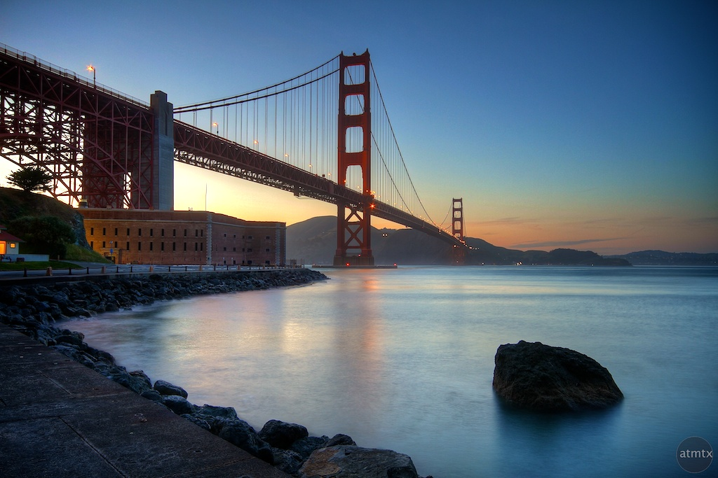 Golden Gate Bridge in HDR