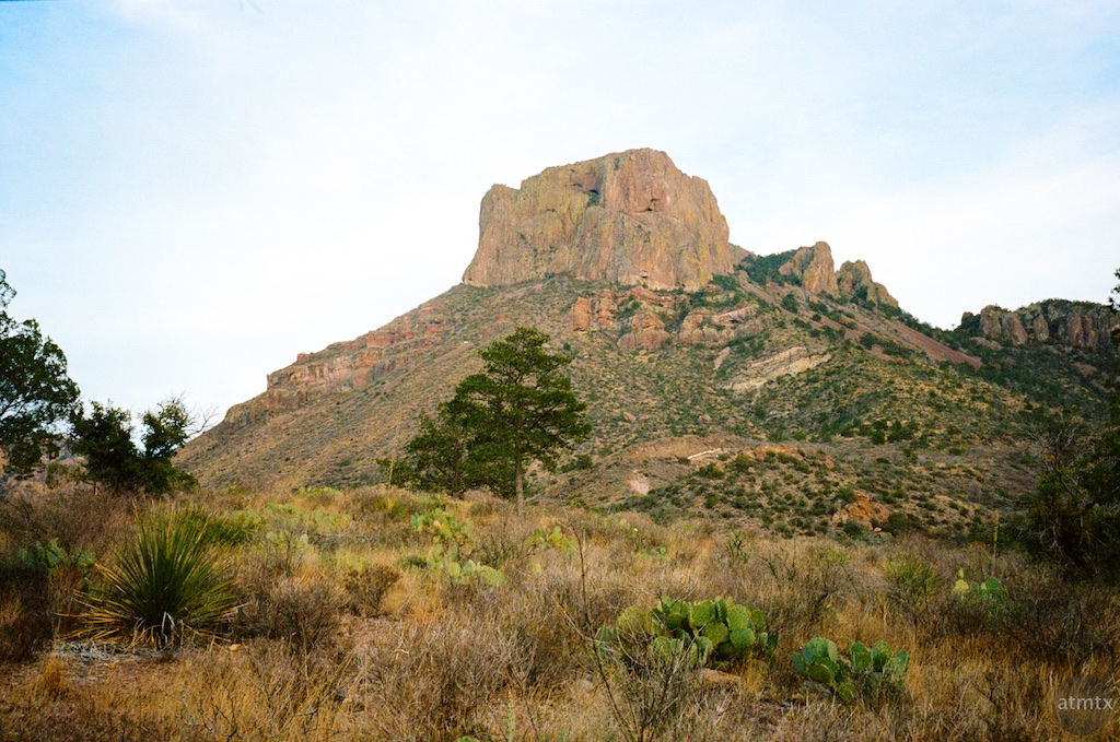A view from Chisos Basin - Big Bend National Park, Texas