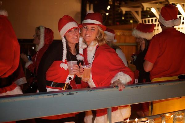 Austin 2010 Santa Pub Crawl