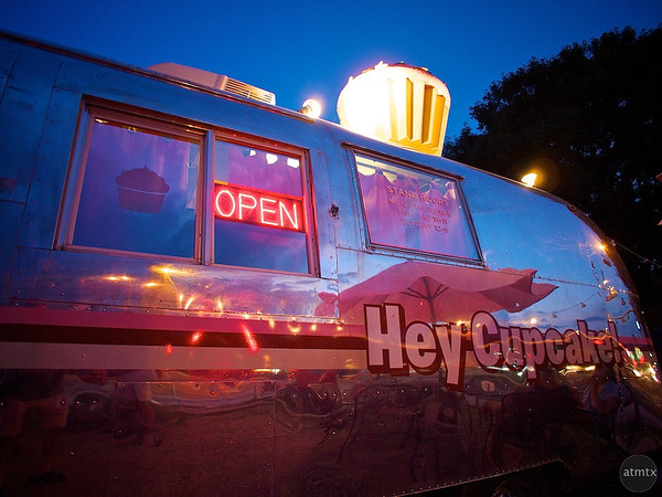 Hey Cupcake Trailer Closeup, SoCo - Austin, Texas