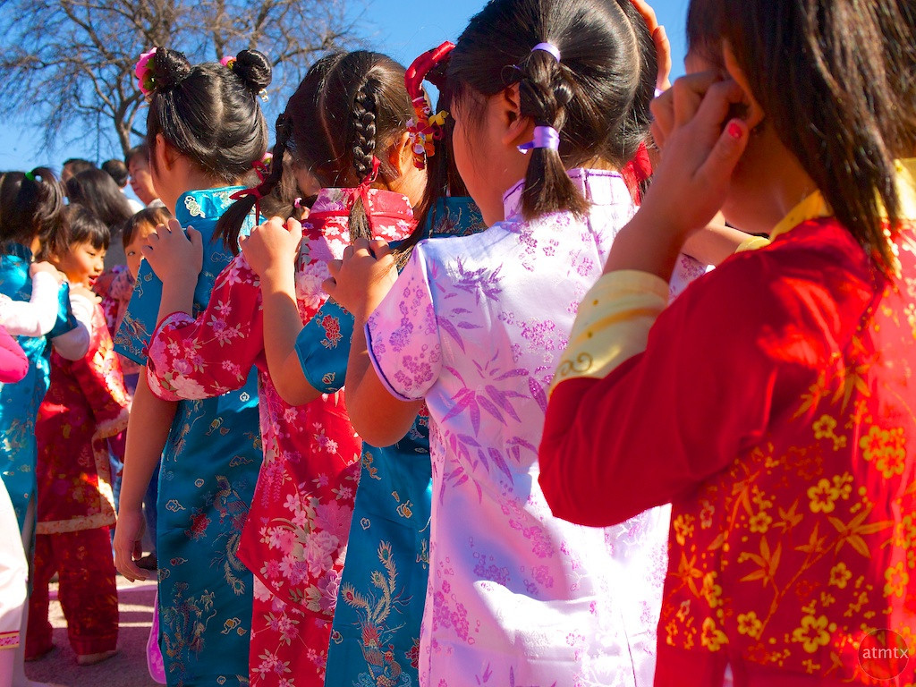 Alternating Colors, 2013 Chinese New Year Celebration - Austin, Texas