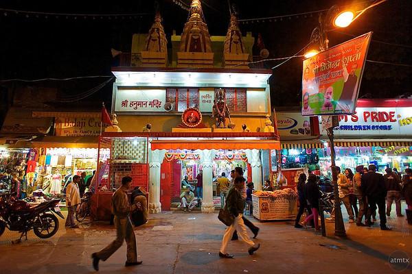 Hindu Temple, Hanuman - Delhi, India