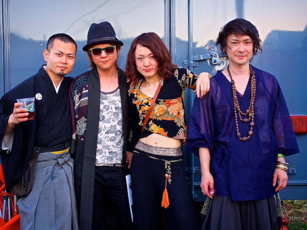 Kao=S Group Portrait, 2013 Japan Preview Show - Austin, Texas