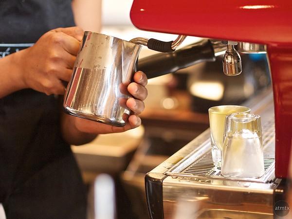 Preparation, Caffe Medici