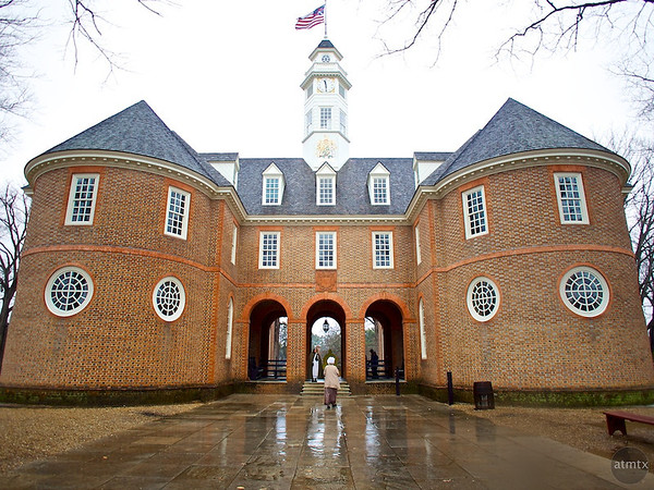 Virginia Colonial Capitol - Williamsburg, Virginia