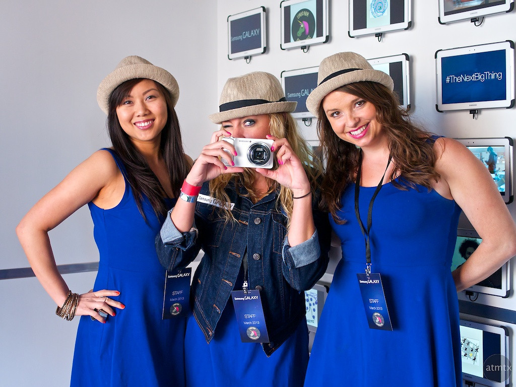 Lisa, Sarah and Elena for Samsung, SXSW Interactive - Austin, Texas