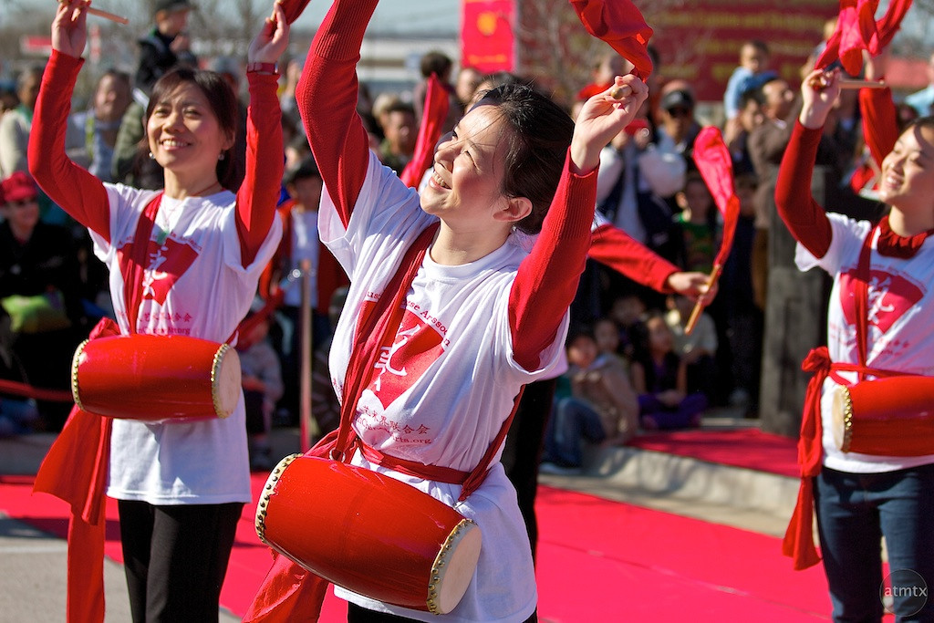 Dancing, 2012 Chinese New Year Celebration