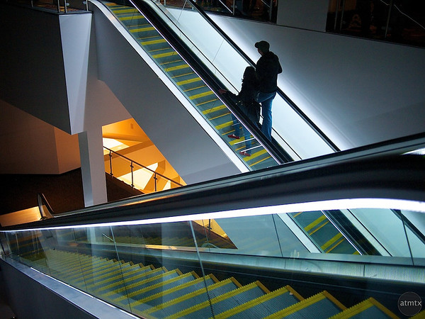 Escalator Up, Metreon - San Francisco, California