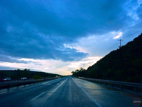 Blue Clouds over Loop 360 - Austin, Texas