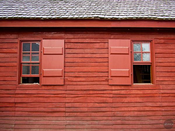 Red Clapboard, Colonial Williamsburg - Williamsburg, Virginia