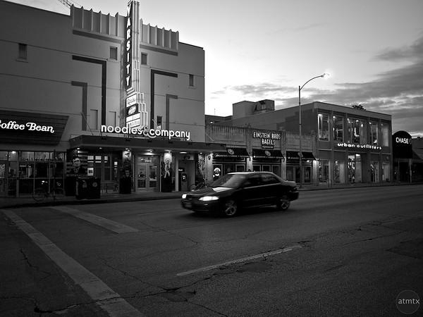 Evening on The Drag, University of Texas - Austin, Texas