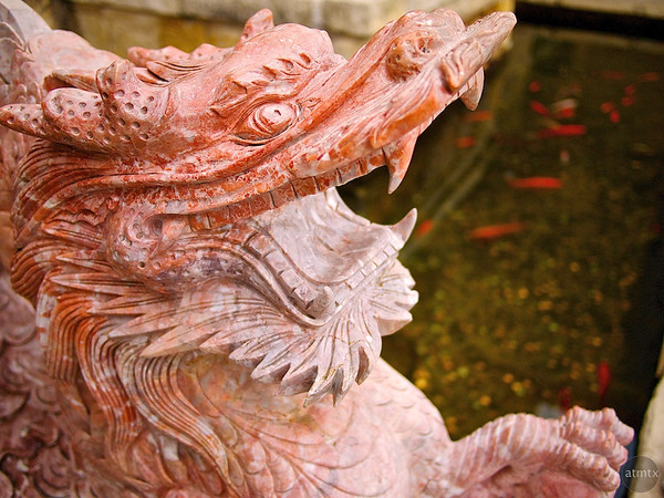 Stone Dragon, Chinatown Center - Austin, Texas