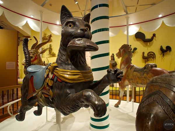 Big Cat, Rockefeller Folk Art Museum - Williamsburg, Virginia