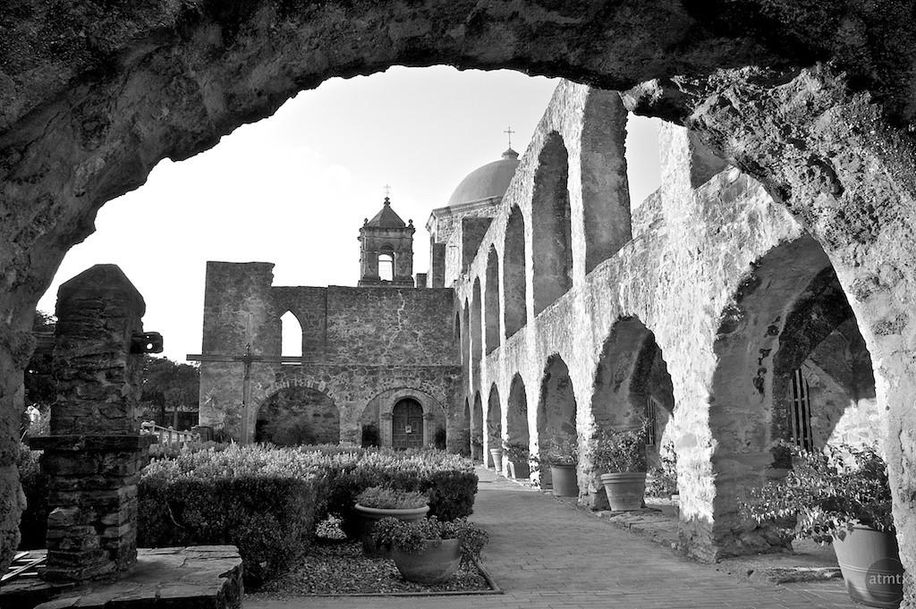 Mission San Jose through Arch