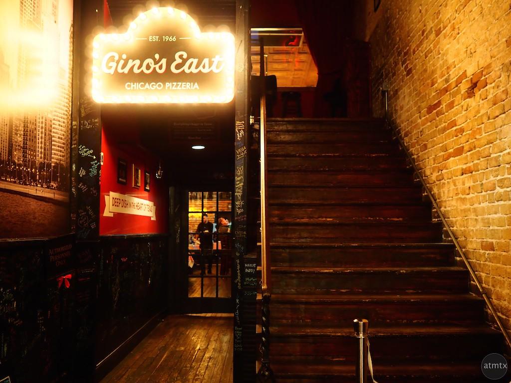 Gino's East, 6th Street - Austin, Texas