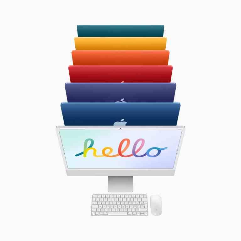 Nouveau iMac et iPad Pro
