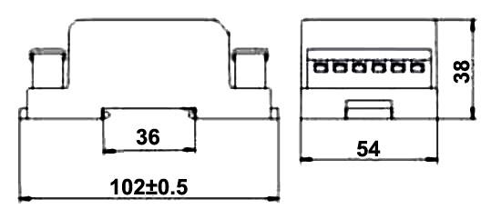 3 Phase AC Voltage Sensor for 100V to 300V Measurement
