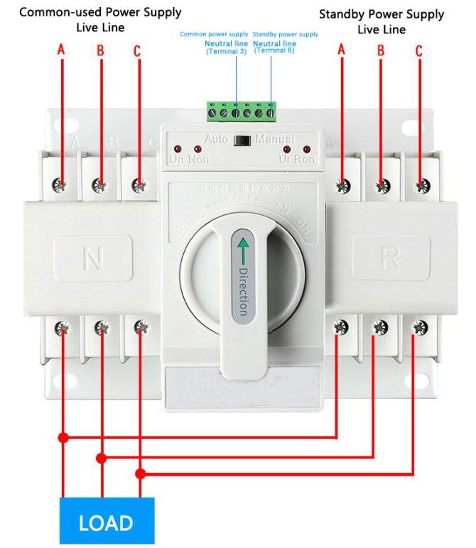 diagram download 3 pole automatic transfer switch wiring