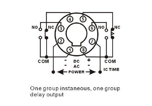 [DIAGRAM] Timer How To Wire This Delay Relay Switch Wiring