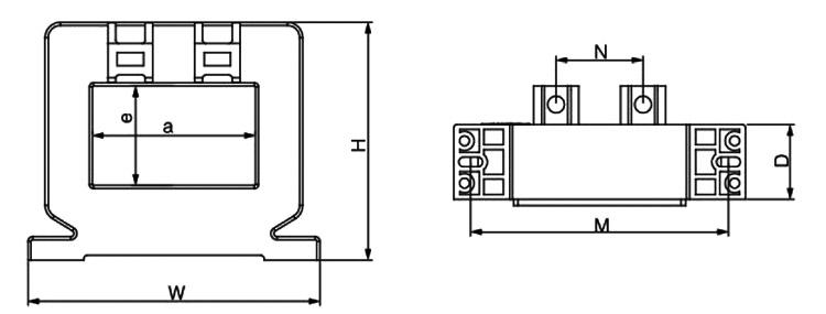 Current Sensor AC/DC 20 amp/50 amp/100 amp/1000 amp to