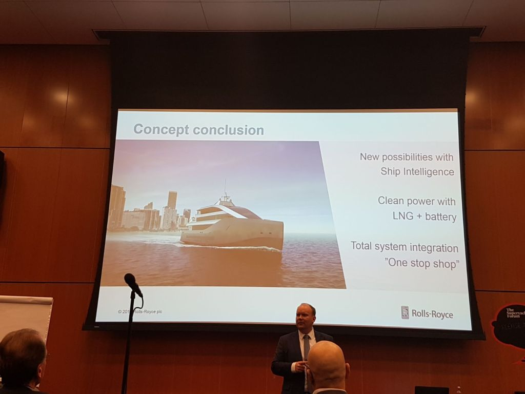 Identifying new superyacht trends with Rolls Royce Engineering