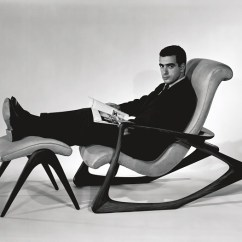 Vladimir Kagan Rocking Chair Baby Cover From Disneyland To Your Living Room A Lifetime Achiever In Contour