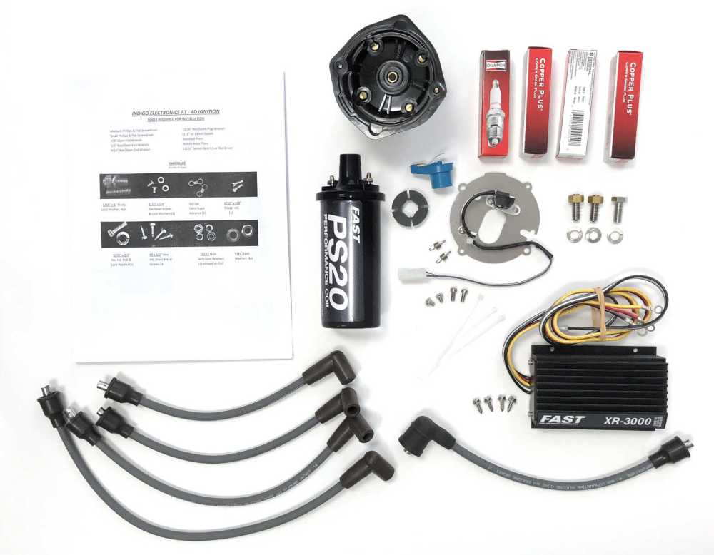 medium resolution of these kits have been expressly engineered to upgrade delco and prestolite distributors on atomic 4 engines shown below is the complete kit and new breaker