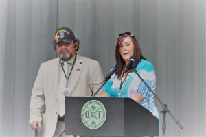 5/20/17 Operation Stand Together Sylvan Theater National Mall Washington DC D.C. Atomic Cleanup Vets Veterans Sal Caiozzo & Lisa Jo Sarro