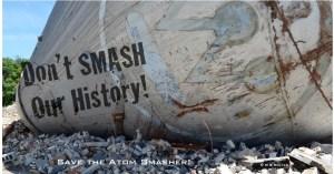 Westinghouse atom smasher, July 2015. © Marni Blake Walter.