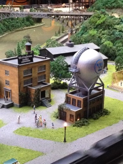 Model Westinghouse atom smasher at Carnegie Science Center. Photo MB Walter.